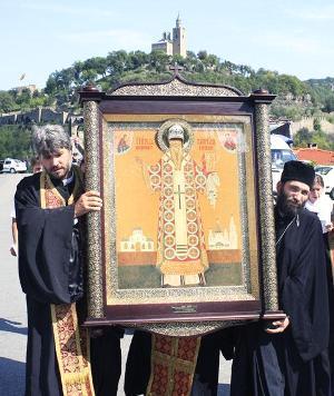Икона на св. Киприян, дар от Русия на Търновската св. Митрополия