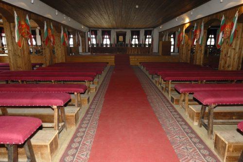 Залата, в която е проведено Учредителното събрание