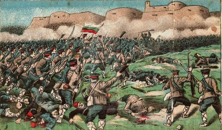 Щурмът на Лозенград през Балканската война
