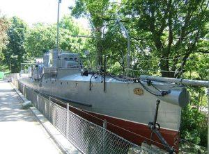 """Торпедоносецът """"Дръзки"""" е открит като кораб-музей на 21 ноември 1957 година. Помещава се във Военноморския музей във Варна."""