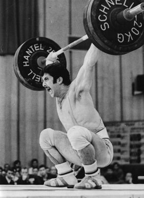 Нораир Нурикян - първият златен медалист във вдигането на щанги