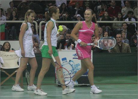Сестрите Малееви - най-добрите български тенесистки