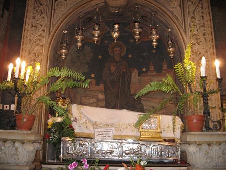 Мощите на Св. Димитър Басарбовски