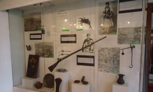 Вещи и оръжие на Дядо Ильо