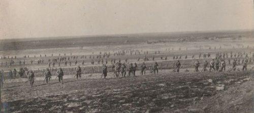 Руска пехота в настъпление