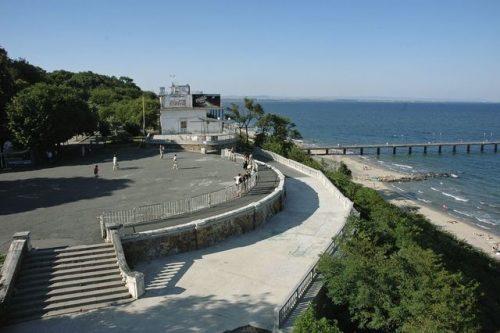 Морска градина в Бургас - снимка:pochivka.bg