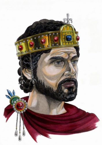 портрет на Василий II