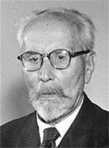 Академик Александър Теодоров-Балан на стари години