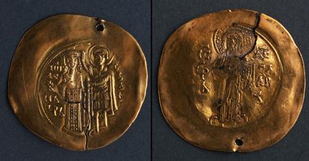 Златна монета на Иван Асен II