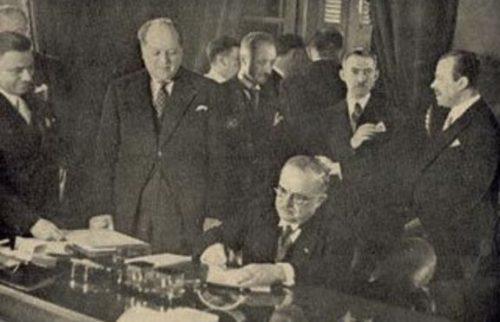 Подписването на Солунското примирие