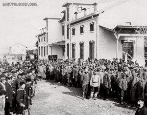 Обявяване на мобилизацията за Балканската война
