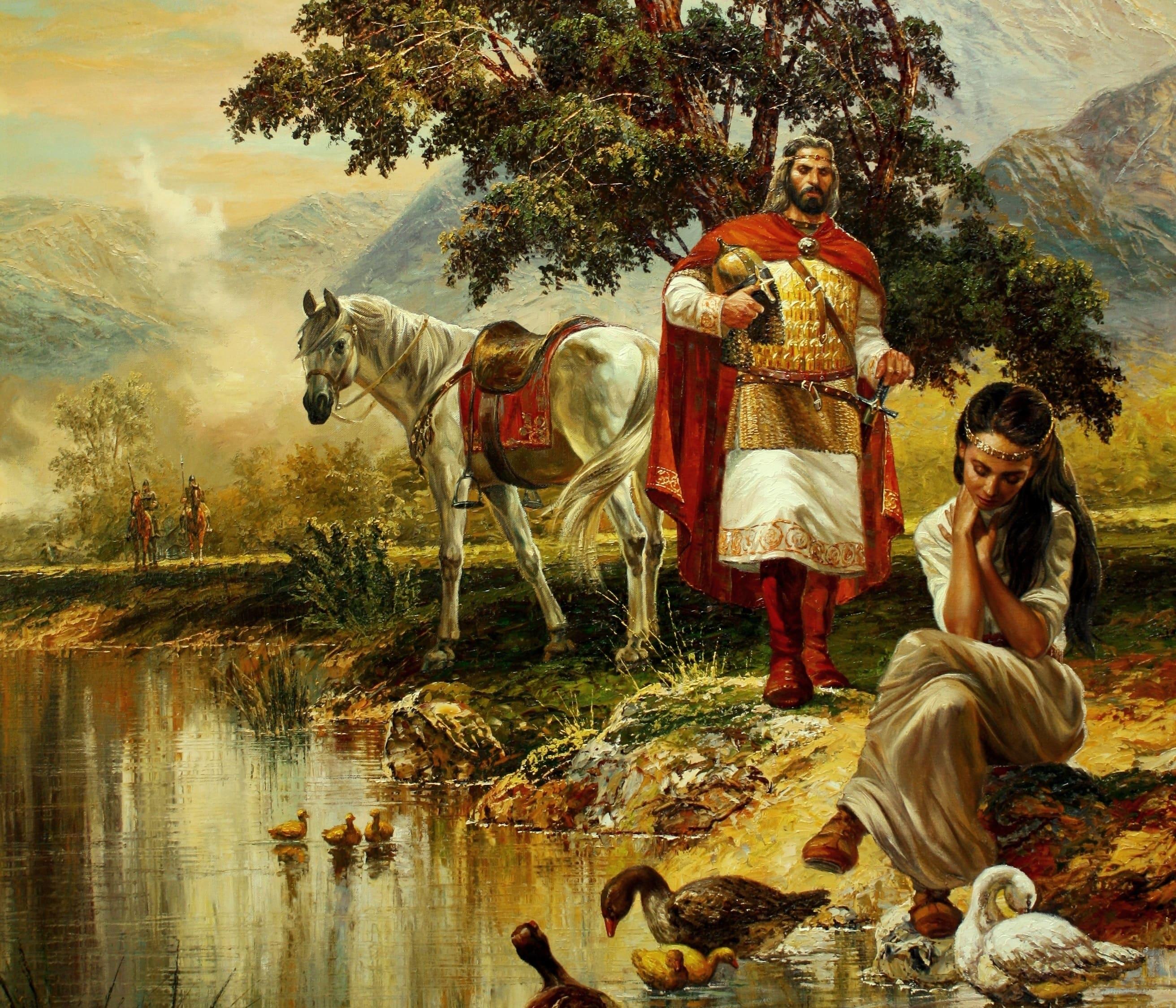 Резултат с изображение за В Преспа умира българският цар Самуил.
