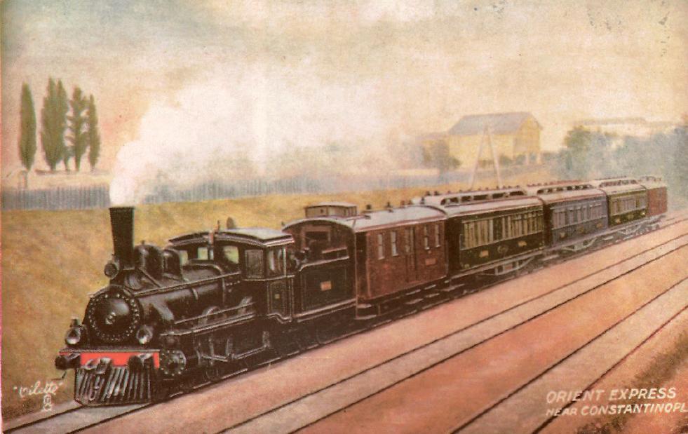 Резултат с изображение за тръгва първият влак Ориент експрес